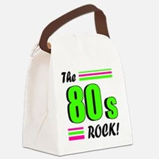 the 80s rock 2 Canvas Lunch Bag