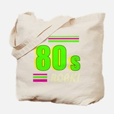 the 80s rock light 2 Tote Bag