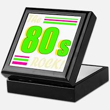 the 80s rock light 2 Keepsake Box