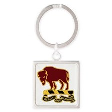 DUI-10TH CAVALRY REGIMENT Square Keychain