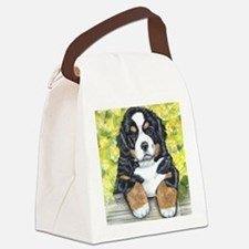 Berner fence pup Canvas Lunch Bag