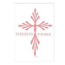 TribeWomenCross1Pink Postcards (Package of 8)