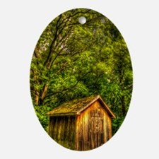 ip3_cabin Oval Ornament