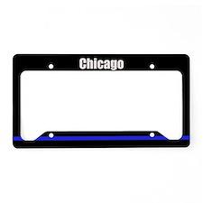 Chicago Police License Plate Holder