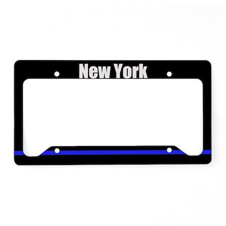 New York Police License Plate Holder