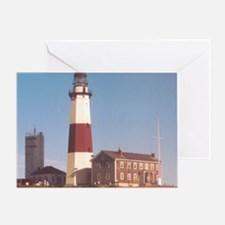 Montauk Light Greeting Card