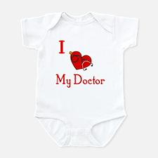 I Love My-Doctor Infant Bodysuit
