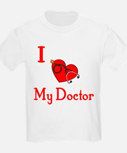 I Love My-Doctor Kids T-Shirt