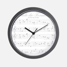 prelude light Wall Clock