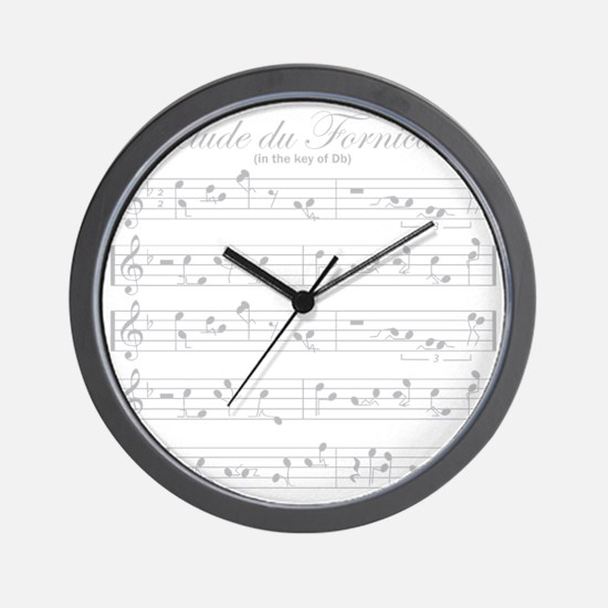 prelude light Wall Clock