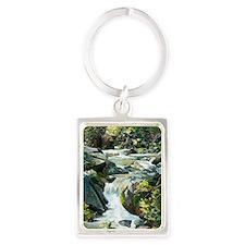 Nadi Creek 14 Portrait Keychain
