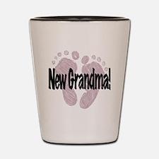 New Grandma (Girl) Shot Glass