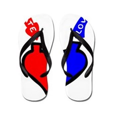 love and hate Flip Flops