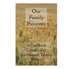 cookbookcover Postcards (Package of 8)