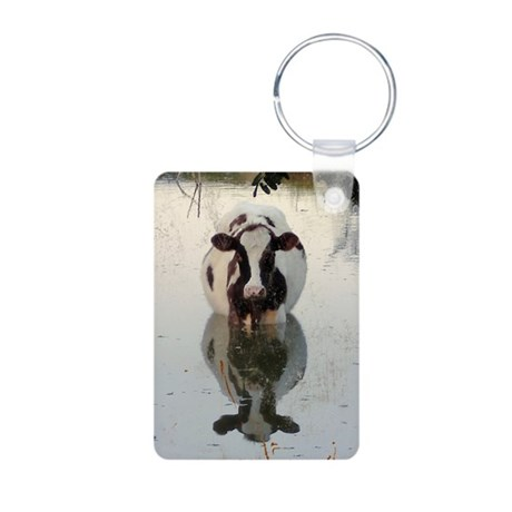 Cow Reflection - Keychains