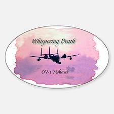 OV1Mohawk Sticker (Oval)