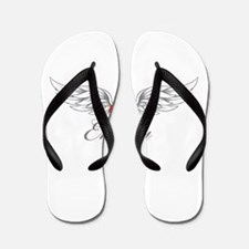 Angel Wings Emery Flip Flops