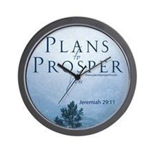 Jeremiah 29 Wall Clock Plans To Prosper You