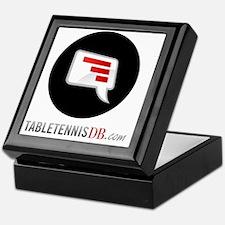 TTDB Logo on White Keepsake Box