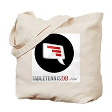 TTDB Logo on White Tote Bag