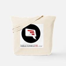 TTDB Logo on White Tote Bag