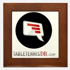 TTDB Logo on White Framed Tile