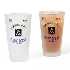 Rockhound Danger Shirt Drinking Glass