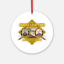 Kennesaw Mtn (battle)1 Round Ornament