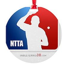 NTTA National Table Tennis Associat Ornament