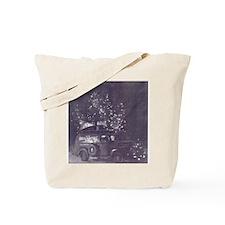 1940's Roving Christmas Tree Tote Bag