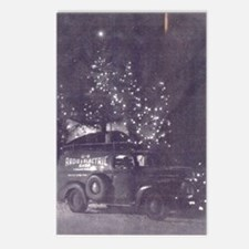 1940's Roving Christmas T Postcards (Package of 8)