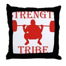 TribeSquatred Throw Pillow