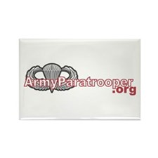ArmyParatrooper.org Rectangle Magnet