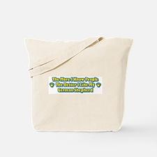 Like My Shepherd Tote Bag