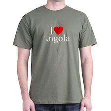 """""""I Love Angola"""" T-Shirt"""