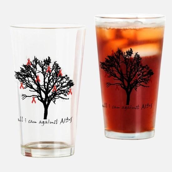 blacktreeaids Drinking Glass