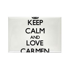Keep Calm and Love Carmen Magnets