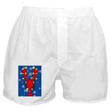 LobsterXmas-iPad Boxer Shorts