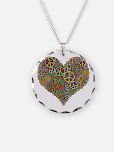 Peace Heart Light3 highpass4 Necklace