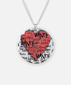 funky dance with heart best  Necklace