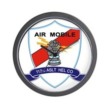 117th Assault Helicopter Co Wall Clock