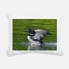 Janurary Rectangular Canvas Pillow