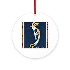 kokopelli Round Ornament