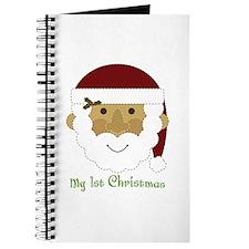 1st Christmas Santa Journal