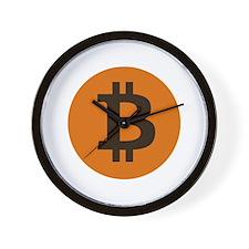 Bitcoin You So Scarry Wall Clock