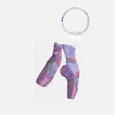 pointe_ballet_slippers_pin Keychains