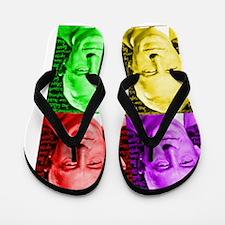 billw-aw-0blanket Flip Flops
