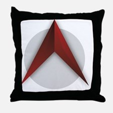 The Scathing Atheist (Logo Only) Throw Pillow