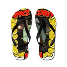 Space Scurvy T design Flip Flops