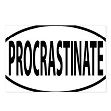 PROCRASTINATE Postcards (Package of 8)